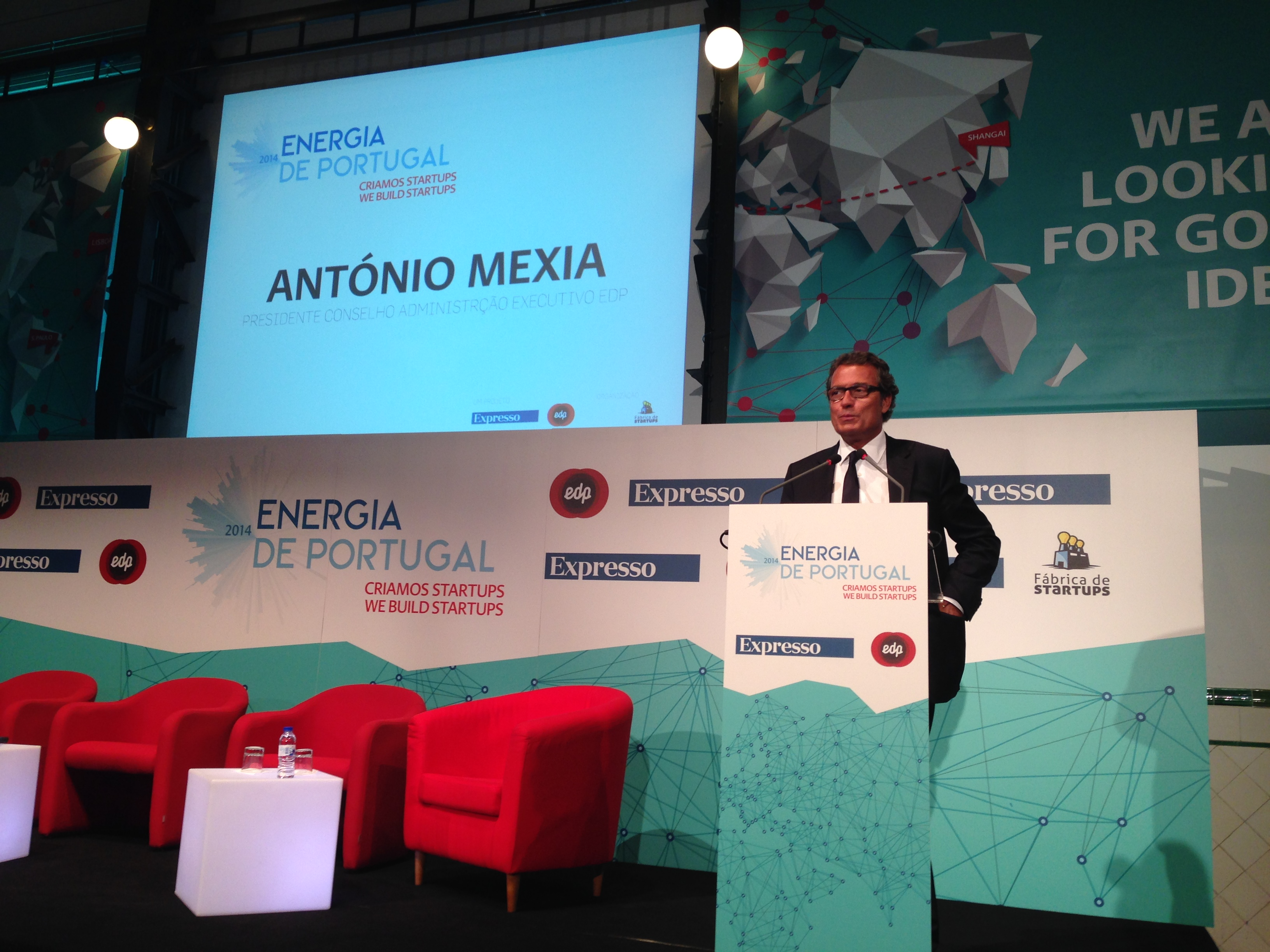 António Mexia at Energia de Portugal