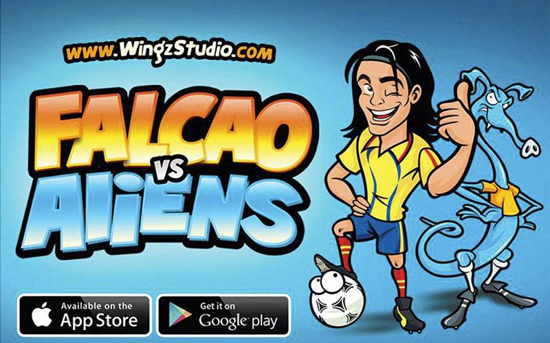 WingzStudio - Falcao vs Aliens