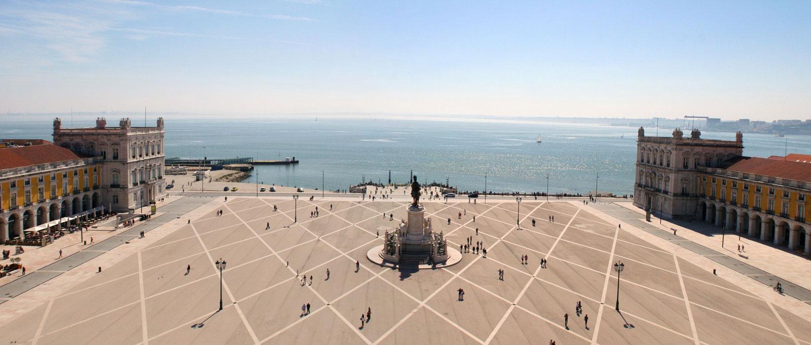yard of the palace - Lisbon