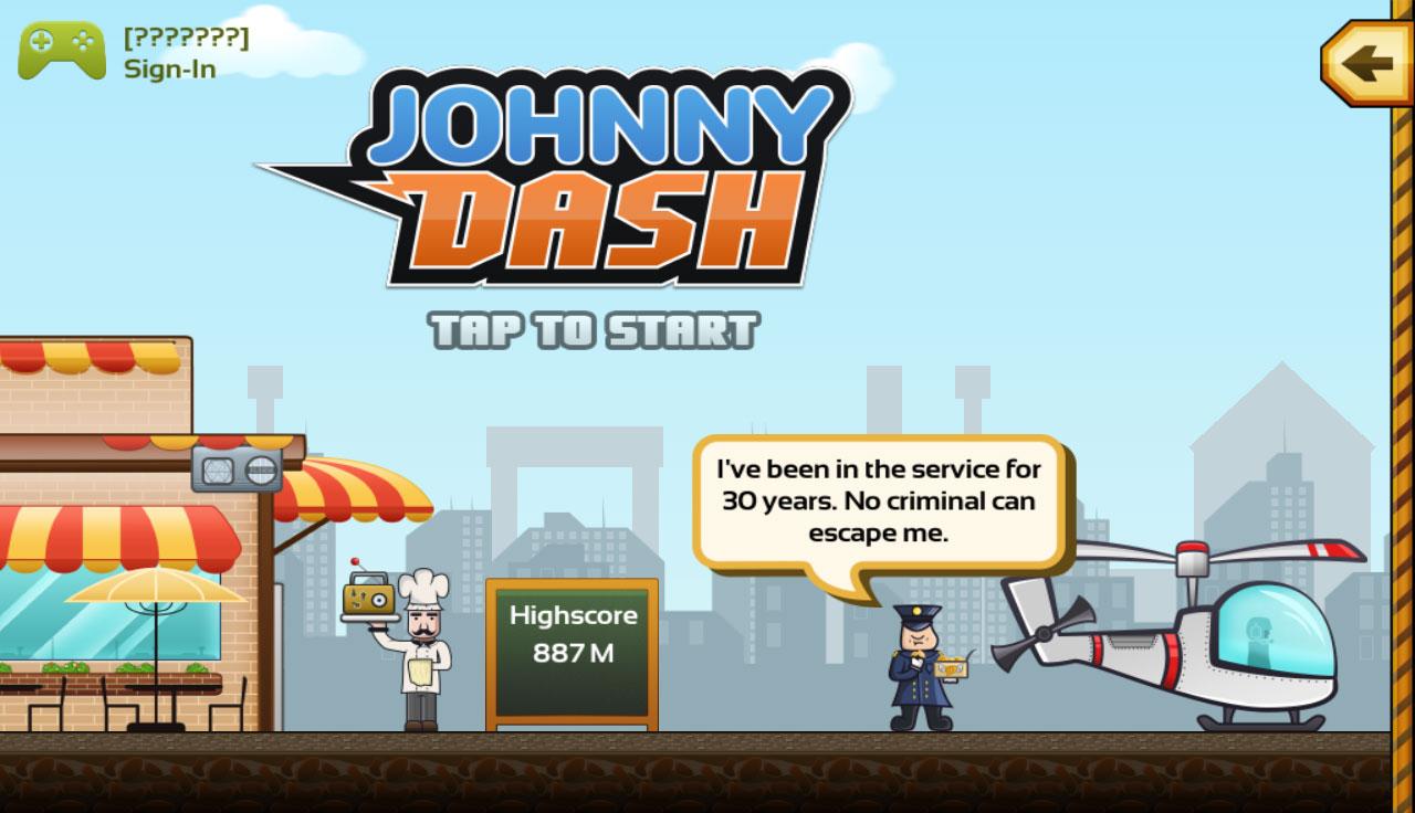Johnny Dash Screenshot