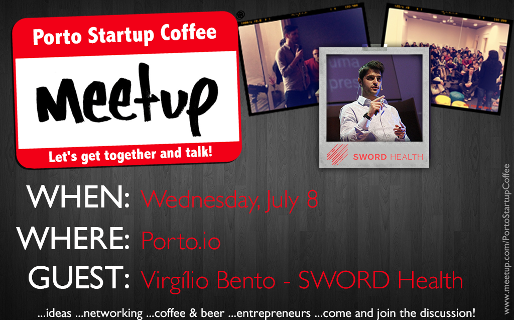 Porto Startup Coffee Meetup SWORD Health