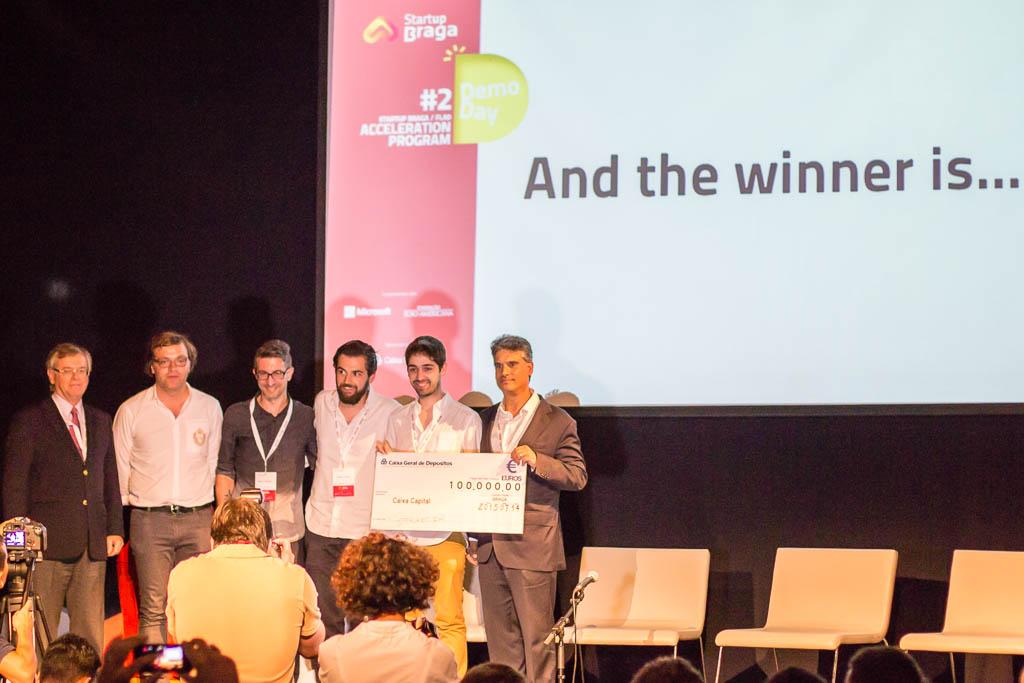 Startup Braga Demoday Winner