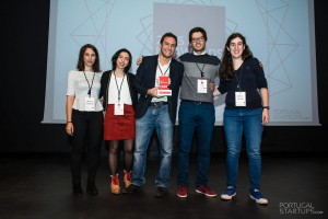 Daniela Monteiro, Ana Almeida, Miguel Vicente, Rafael Pires and Inês Silva