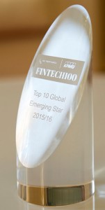 Top 10 Global Emerging Stars in KPMG - H2 Ventures Fintech 100 2015-16